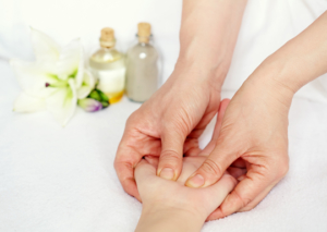 Massage Therapy with Essential Oils