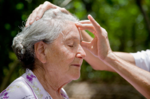 massage therapy for alzheimer's